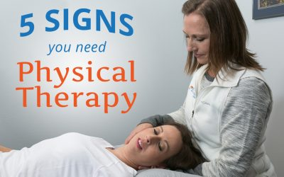 5 Signs You Need Physical Therapy
