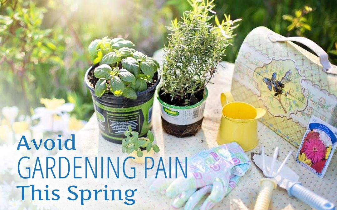 Avoid Gardening Pain This Spring