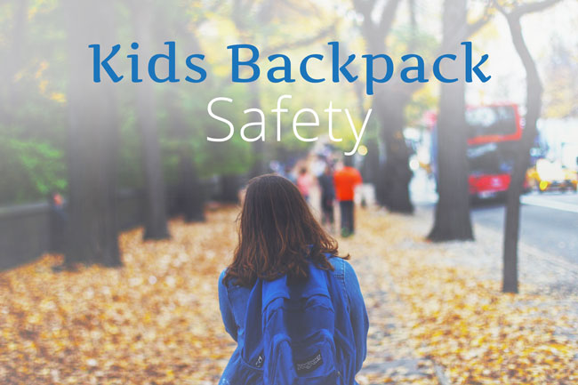 Kids Backpack Safety