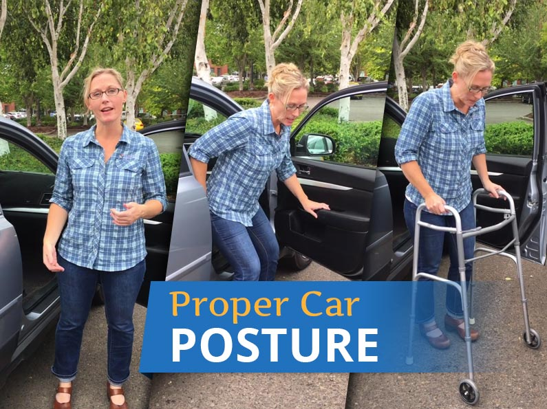 Proper Car Posture & Body Mechanics