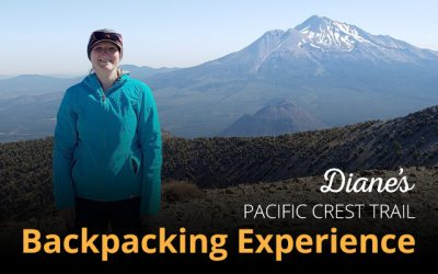 Diane's Pacific Crest Trail Backpacking Experience